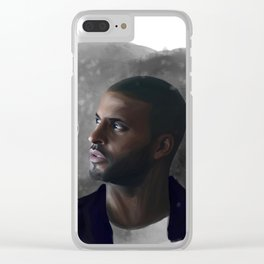 Did I Make Snow? Clear iPhone Case