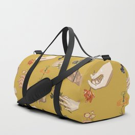 Hands in Art History Duffle Bag