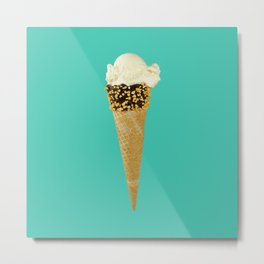 Ice cream Summertime Metal Print