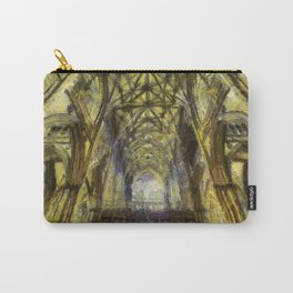 York Minster Van Gogh Style Carry-All Pouch