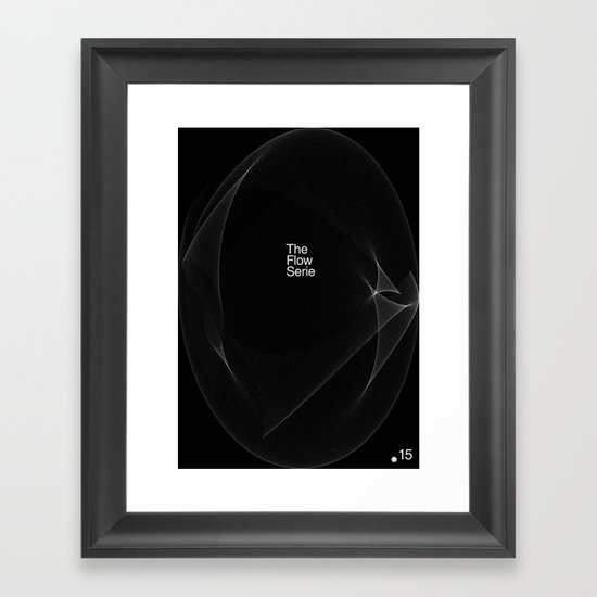 The Flow Series #15 Framed Art Print