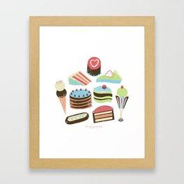 Too Sweet! Framed Art Print