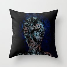 Vines and Confines  Throw Pillow