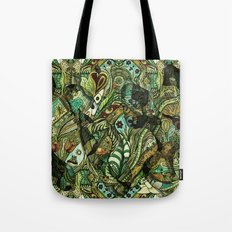 Journey thru the mind to see what makes you shine Tote Bag