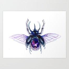 jewel beetle Art Print