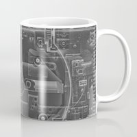 playstation Mugs featuring PlayStation One  by Georg Bodenstein
