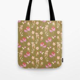 Floral greenery Tote Bag