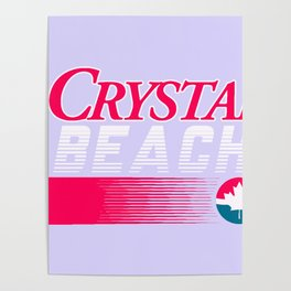 CRYSTAL BEACH Poster