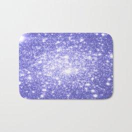 Lavender Periwinkle Sparkle Stars Bath Mat