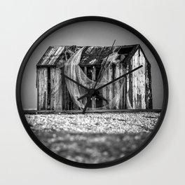 Fishermans Hut Wall Clock