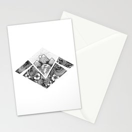 Geometric Nature Stationery Cards