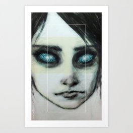 Godhead (the Girl o4) Art Print
