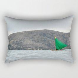 Titicaca sail 2 Rectangular Pillow