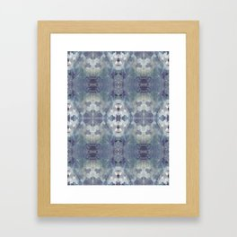Large Lilac Chill Framed Art Print
