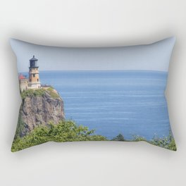 Split Rock Lighthouse Rectangular Pillow