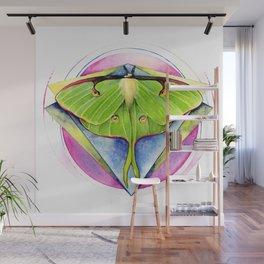 Actias luna - Luna Moth Wall Mural