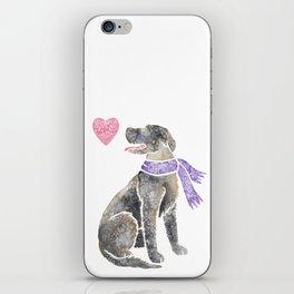 Watercolour Irish Wolfhound iPhone Skin