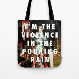 Jean Auguste Dominique Ingres, Joan of Arc at the Coronation of Charles VII (1854) / Halsey, Hurrica Tote Bag