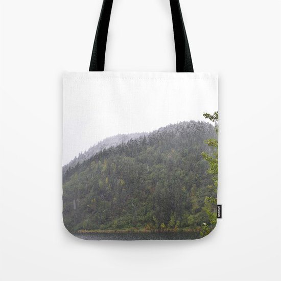 Season's First Snow Tote Bag
