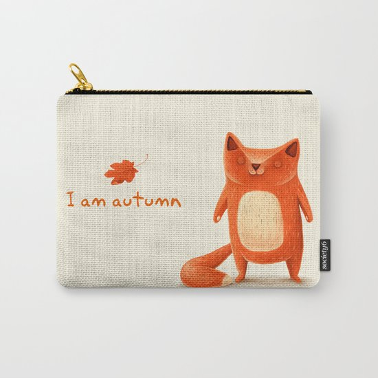 I am autumn (1) Carry-All Pouch