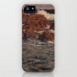 Shigeru Aoki - Seascape, Mera (1904) iPhone Case
