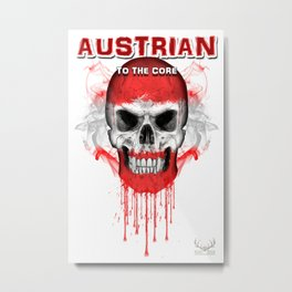 To The Core Collection: Austria Metal Print