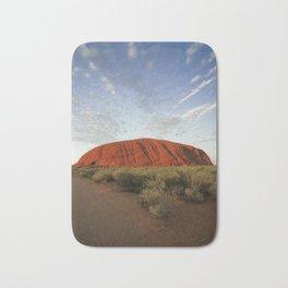 Ayers Rock in Australia Bath Mat