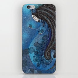 The Seal Woman iPhone Skin