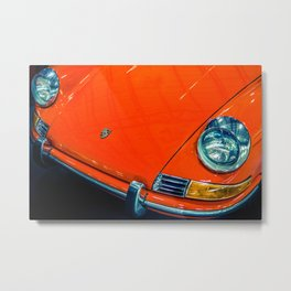 Orange 912 Metal Print