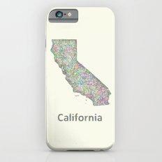 California map iPhone 6s Slim Case