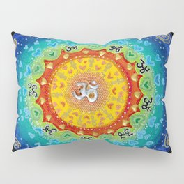 Cosmic Mandala Pillow Sham