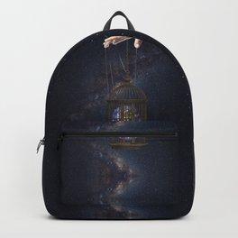 Surrealism Fantasy Earth Backpack