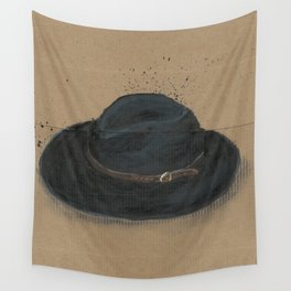 My Fedora is a thing I use to define myself  Wall Tapestry