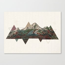 This mountain light Canvas Print