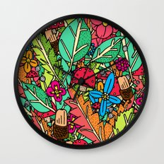 Autumn Nature Wall Clock