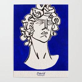 David Michelangelo statue Poster