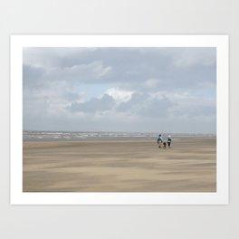Noordwijk Beach  Art Print