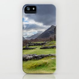 Dolbadarn Castle Snowdonia iPhone Case