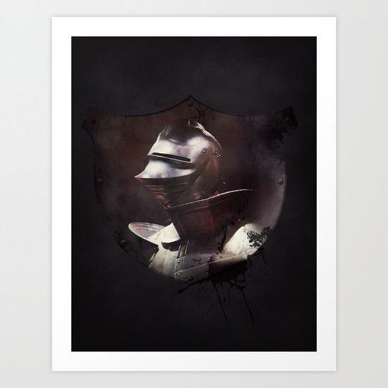 Dark Knight Art Print