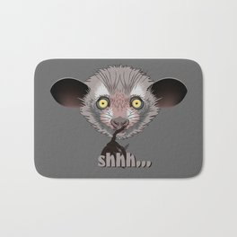 Aye-Aye Lemur Bath Mat