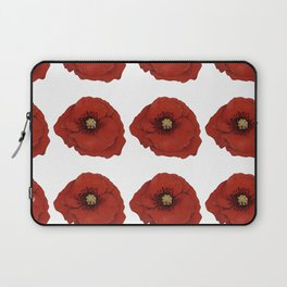 I Adore Poppies Laptop Sleeve