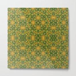 green poppy field Metal Print