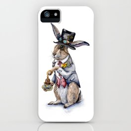 March Hare iPhone Case