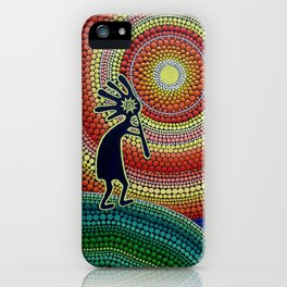 """Painting """"The Song of Kokopelli"""" iPhone Case"""