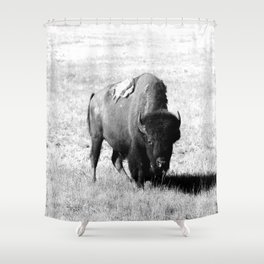 Big Daddy On His Range Shower Curtain