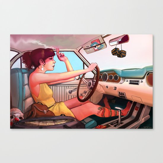 The Getaway Canvas Print
