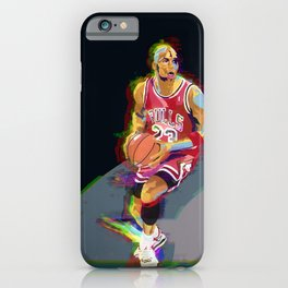 Jumpman #23 - Basketball player - poster iPhone Case