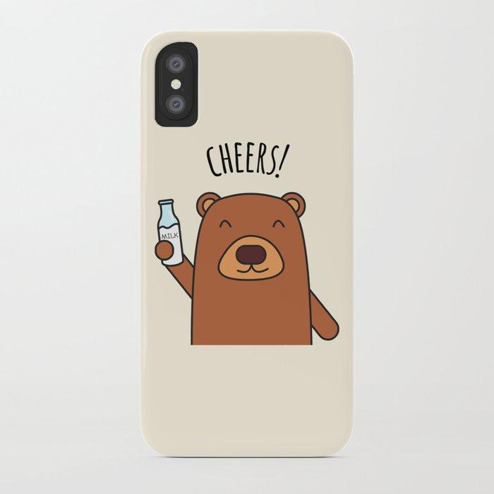 Cheers, Bear! iPhone Case
