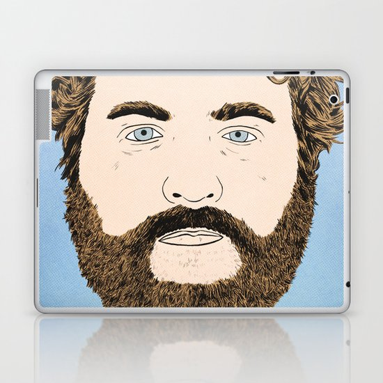Zach Galifianakis Laptop & iPad Skin