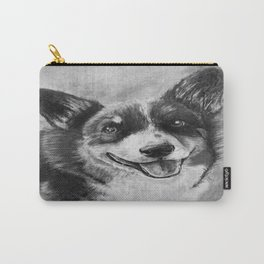 Dog Portrait Commission 2 Carry-All Pouch